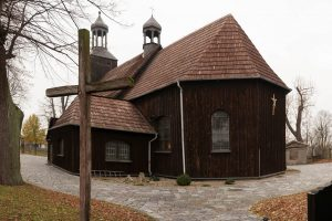 Kościół pw. Najświętszej Maryi Panny Wniebowziętej - Żegocin